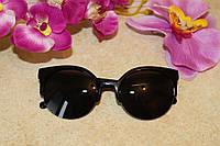 Солнцезащитные очки женские 2016 (черные), фото 1