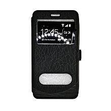 Чехол-книга Huawei Y3-2 Wave Cover (черный)
