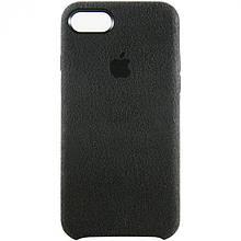 Чехол Alcantara Cover Apple iPhone 8 (черный)