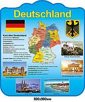 Стенд для кабинета немецкого языка