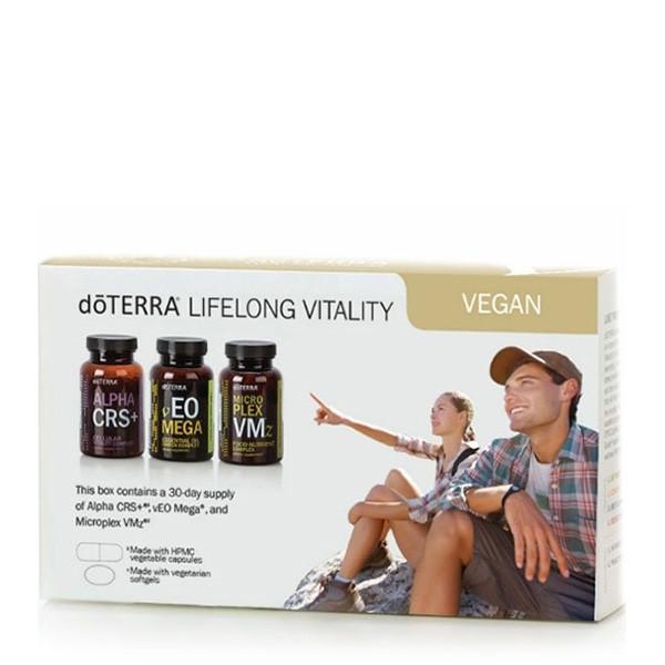 Вегетарианский набор «Энергия на всю жизнь» / Vegan Lifelong Vitality Pack, 3 БАД в упаковке