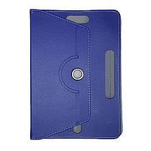 "Чехол-книжка Universal Flat Leather Pad 10"" (Синий)"
