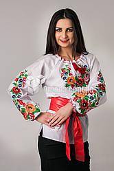 Женская вышиванка с цветочным узором Диана