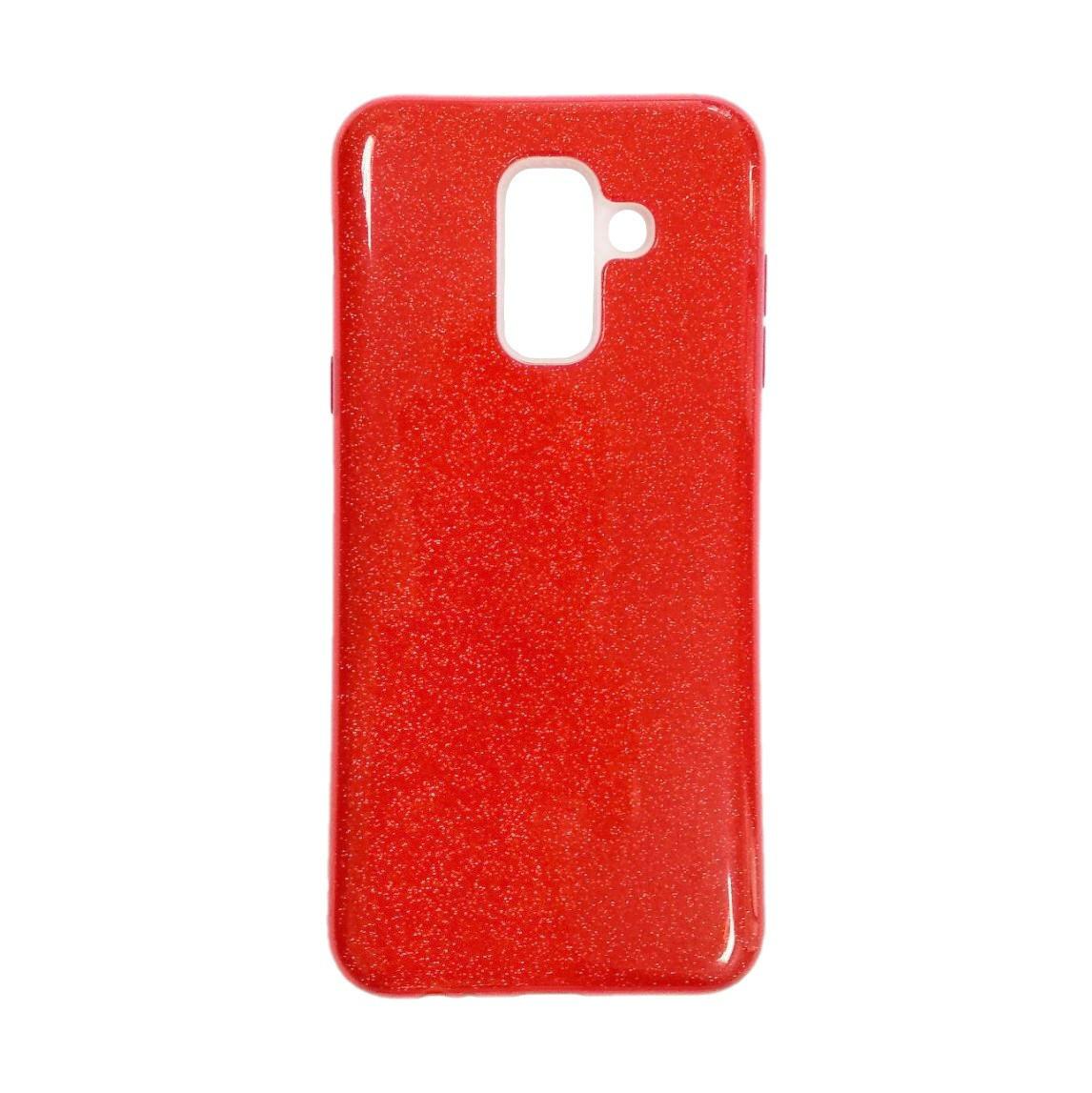Силикон Twins Samsung Galaxy A6 Plus (2018) A605 (Красный)
