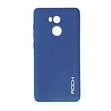 Силикон Rock Matte Xiaomi Redmi 4 Prime (Blue)