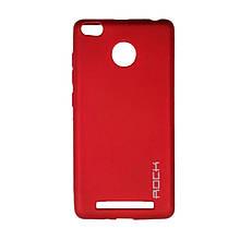 Силикон Rock Matte Xiaomi Redmi 3 / 3s / 3x / 3 Pro (Red)