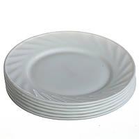 Тарелка десертная круглая 17.8 см (набор 6 шт) (1867)