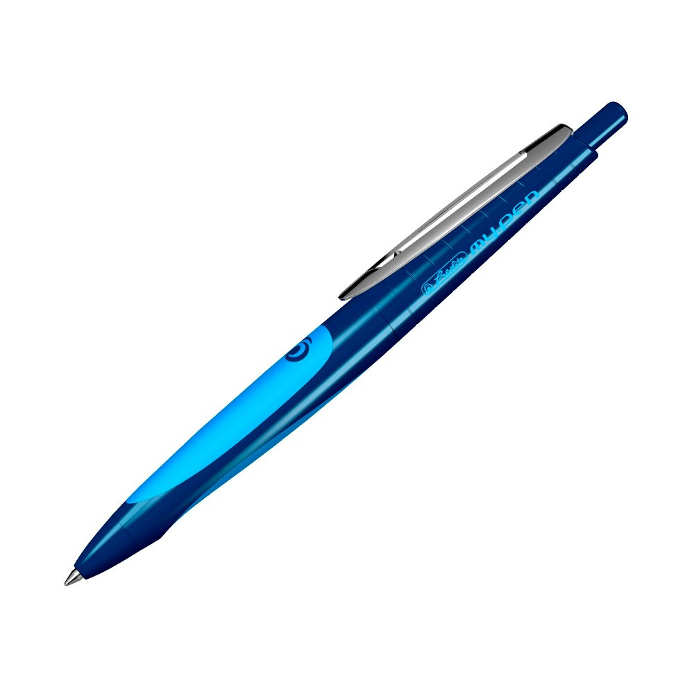 Ручка гелевая пиши-стирай Herlitz My.Pen Sport Blue синяя