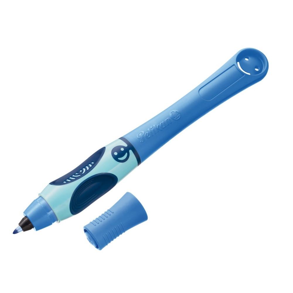 Ручка капиллярная обучающая для правши Pelikan Griffix Blue Sea синяя (955161)