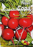 Семена Редиса сорт Сора, пакет 10х15 см