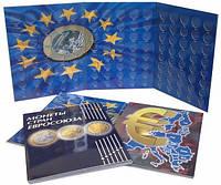 Альбом-планшет для монет Евро