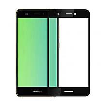 Защитное стекло 3D для Huawei Y3 (2017) Black