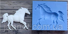 """Кондитерский молд """"Лошадь"""" - размер молда 8*7см, качественный силикон"""