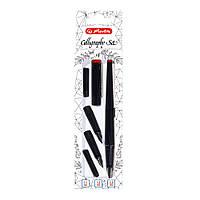 Ручка перьевая для каллиграфии Herlitz Calligraphy Set 3 сменных пера (8623001)