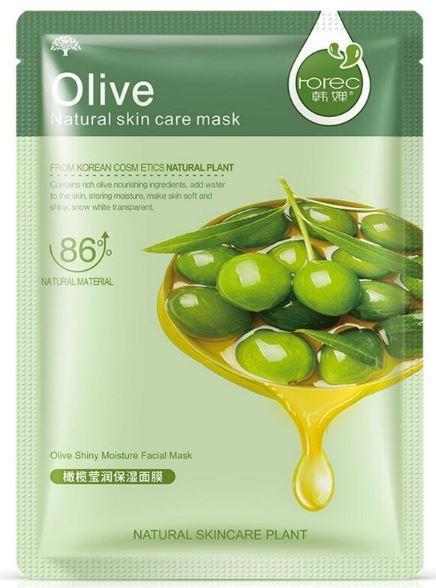 Rorec Оливкова маска для обличчя тканинна