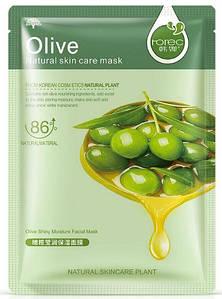 Rorec Оливковая маска для лица тканевая