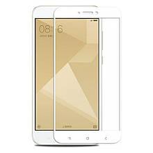3D Стекло Xiaomi Redmi Note 4 White