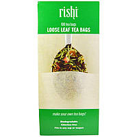 Rishi Tea, Loose Leaf Tea Filter Bags, 100 Bags