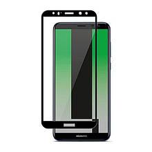 Защитное стекло 5D для Huawei Mate 10 Lite Black
