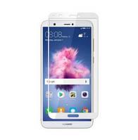 Защитное стекло 5D для Huawei P Smart White (Клей)