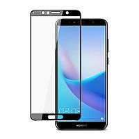 Защитное стекло 5D для Huawei Y6 Prime (2018) / Honor 7a Pro Black (Клей)