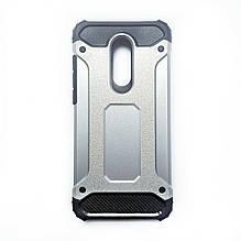 Чехол Armor Case Xiaomi Redmi 5 Plus (серебрянный)
