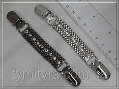 Застібка на кардиган R 5 нікель, темний нікель