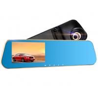 Автомобильное зеркало - видеорегистратор REMAX Rearview Mirror Car Recorder CX-03, black-blue,Вох (CX-03)