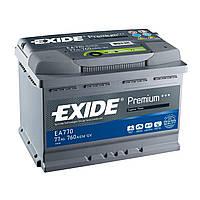 Аккумулятор автомобильный Exide Premium 77AH R+ 760А (EA770)