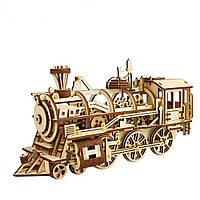 3D-сборка Деревянная головоломка-локомотив Набор Механический Gears Toys Brain Teaser Games Лучший подарок на день рождения 1TopShop