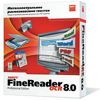 ABBYY FineReader 8.0 Professional Edition BOX