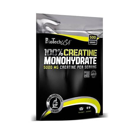 BioTech 100% Creatine Monohydrate 500 г