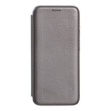 Чехол-книжка Оригинал Samsung A8 Plus (2018) A730 (Серый)
