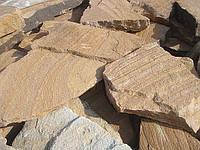 """Песчаник """"тигровый"""" крупнозернистый, фото 1"""