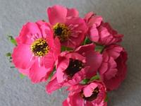 Атласные цветочки 4011  упаковка 72 шт, фото 1