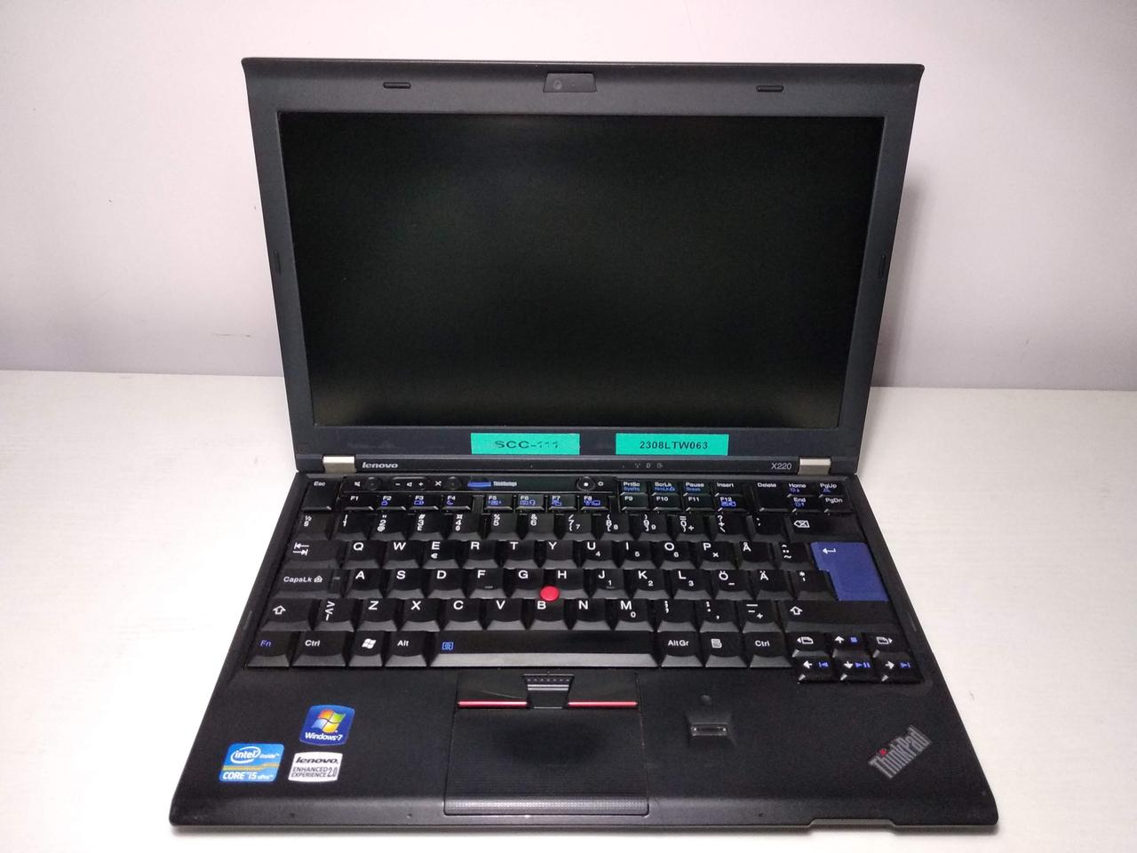 "Ноутбук Lenovo ThinkPad X220 Intel Core i5-2520M 3.2GHz/4Гб/12.5""/3G модем/GPS/HD Graphics 3000"
