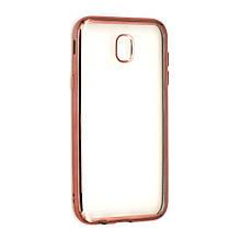 Силикон UMKU LINE Samsung J3 (2017) J330 Розовый