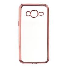 Силикон UMKU Line Samsung J200 (Розовый)