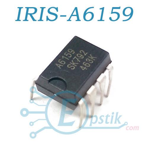 STR-A6159M, ШИМ контроллер, 650В, DIP7