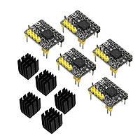 5Pcs / Pack BIQU TMC2130 Stepper Мотор Модуль драйвера с черным термопринтером 3D-принтер - 1TopShop