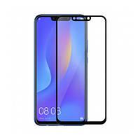 Защитное стекло 5D для Huawei P Smart Plus Black (Клей)