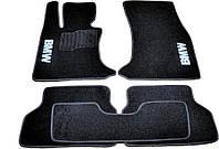 Коврики в салон ворс BMW 5 (E60) (2003-2010) /Чёрные, кт. 5шт