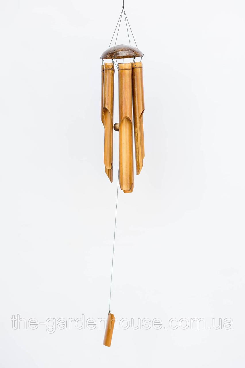 Музыка ветра с половинкой кокоса, 40 см
