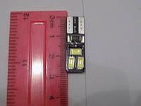 Автомобильная светодиодная лампа диод без цоколя для освещения габаритов T10-5630-6SMD-CANBUS (пр-во Китай), фото 1