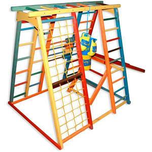 Детский игровой комплекс BabyGrai Радуга, код: BG-IKR