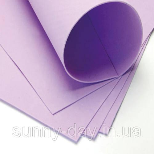Фоамиран лист (15х20см), сиреневый