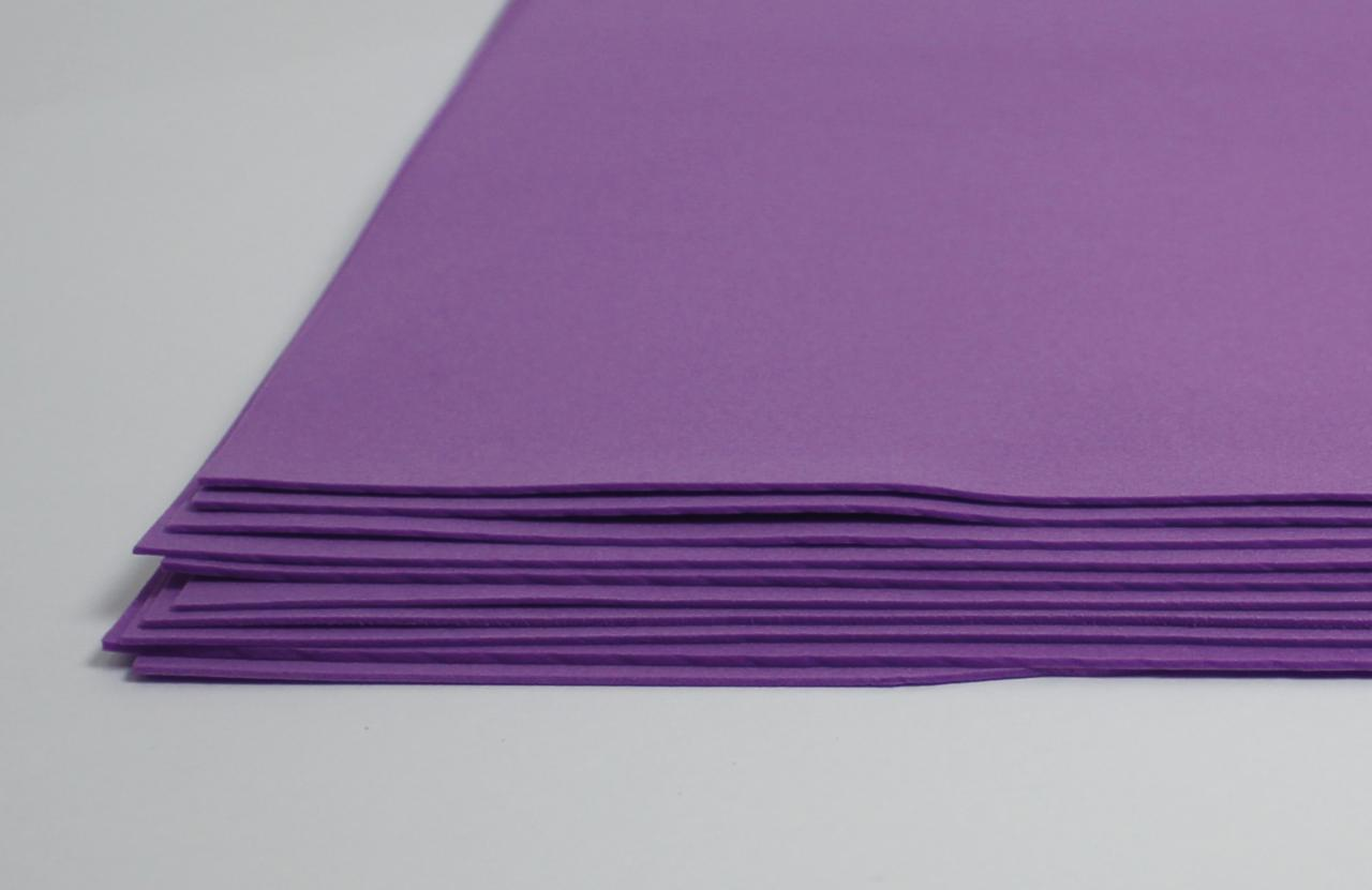 Фоамиран лист (15х20см), фиолетовый