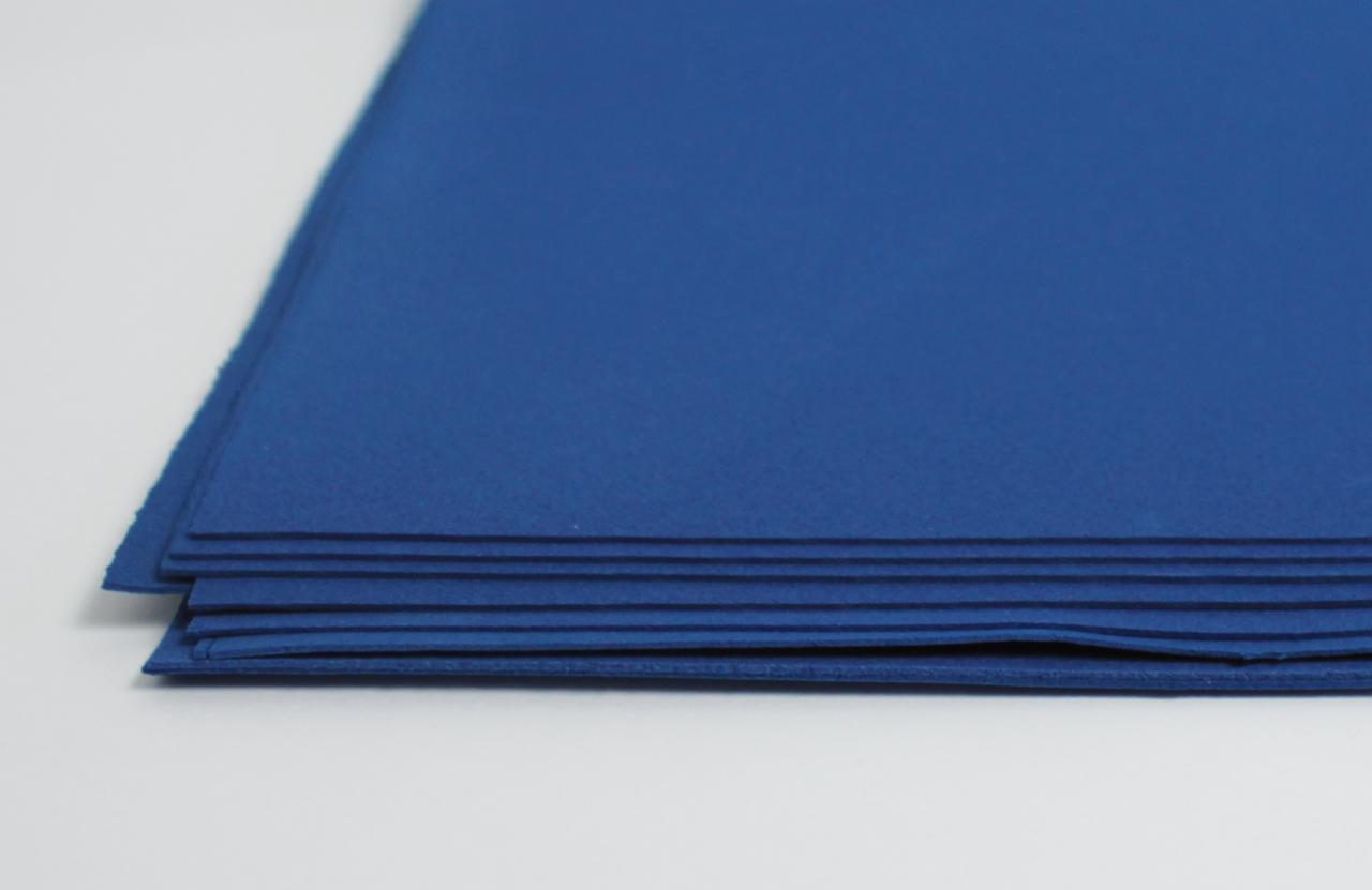 Фоамиран лист (15х20см), темно-синий