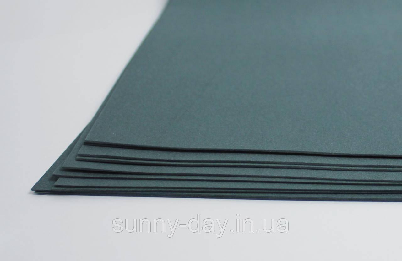 Фоамиран лист (15х20см), мокрый асфальт