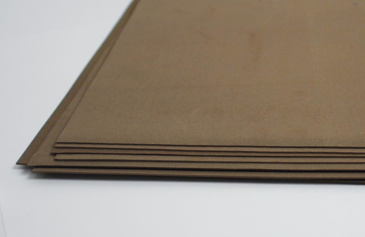 Фоамиран лист (20х30см), темно-коричневый